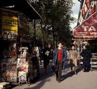 Kiosk in Paris, 1967 Juergen/Timeline Images