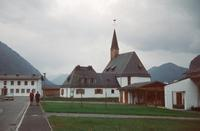 Kirche in Neu-Fall, um 1960 HRath/Timeline Images