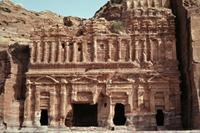 Korinthischer Tempel in Petra, 1984 Czychowski/Timeline Images