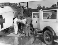 Krankentransport in den USA, 1931 Timeline Classics/Timeline Images