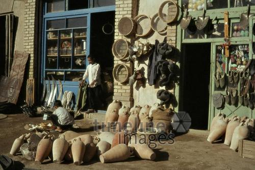 Laden in Bastanabad, 1964 Czychowski/Timeline Images