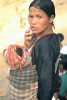 Lahu Mutter mit Kind, 1985 Czychowski/Timeline Images