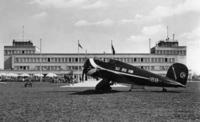 Lockheed 9B Orion in Oberwiesenfeld, 1935 Timeline Classics/Timeline Images