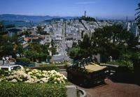 Lombard Street in San Francisco, 1985 1Frido2/Timeline Images