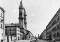 Ludwigskirche in München, um 1930 Timeline Classics/Timeline Images