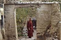 Mönch in Tibet, 1987 RalphH/Timeline Images