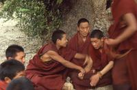 Mönche in Tibet, 1987 RalphH/Timeline Images