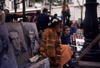 Maler am Place du Tertre in Paris, 1986 Juergen/Timeline Images