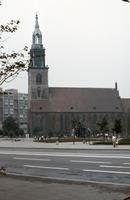 Marienkirche am Alexanderplatz in Berlin, 1973 Lanninger/Timeline Images