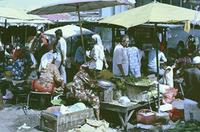 Markt in Kota Baru, Malaysia, 1985 hwh089/Timeline Images