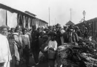 Markt in Lourenco Marques in Mosambik, um 1900 Timeline Classics/Timeline Images