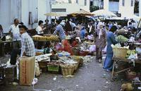 Markt in Malaysia, 1985 hwh089/Timeline Images