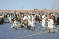 Markt in Marrakesch, 1969 Raigro/Timeline Images