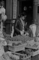 Marktfrau in London, 1970er Jahre kurka/Timeline Images