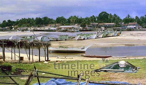Meeresbucht in Malaysia, 1985 hwh089/Timeline Images
