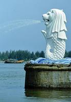 """Merlion"" in Singapur, 1985 hwh089/Timeline Images"