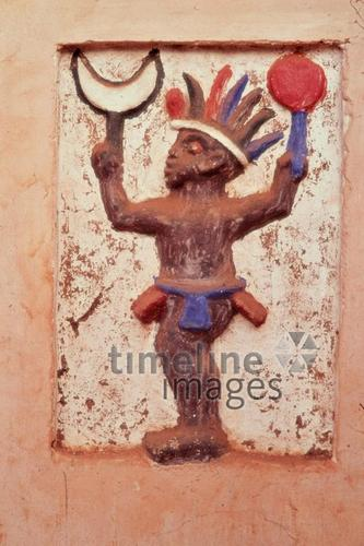 Messing-Figur in Abomey, 1971 Czychowski/Timeline Images