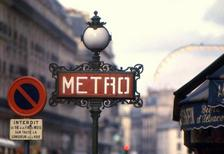 Metrostation in Paris, 1967 Juergen/Timeline Images