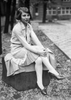 Miss Germany 1928 Margarete Grow ullstein bild - ullstein bild/Timeline Images
