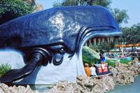 Moby Dick Attraktion in Disneyland, Los Angeles, Kalifornien, USA, 1973 Raigro/Timeline Images