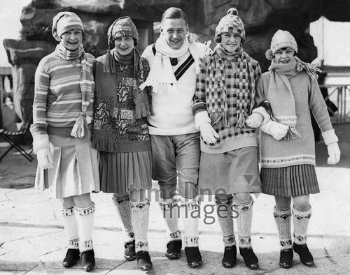 Kleidung frauen 1930