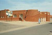 Modernes Haus in Tamanrasset, 1983 Czychowski/Timeline Images