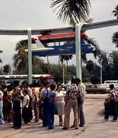 Monorail im Seeaquarium in Miami, 1975 Juergen/Timeline Images