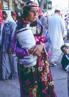 Mutter mit Baby in Deir ez-Zor, 1988 Schneckes/Timeline Images