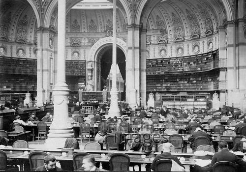 Nationalbibliothek in Paris Timeline Classics/Timeline Images