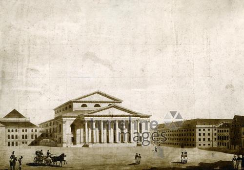 Nationaltheater in München, 1824 Timeline Classics/Timeline Images