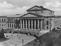 Nationaltheater in München, um 1935 RainerA/Timeline Images