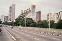 Nicoll Highway in Singapur, 1978 Czychowski/Timeline Images