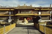 Norbulingka-Palast in Lhasa in Tibet, 1986 RalphH/Timeline Images