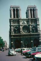 Notre Dame in Paris, 1961 RainerA/Timeline Images