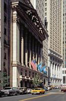 NYSE in der Wall Street Raigro/Timeline Images