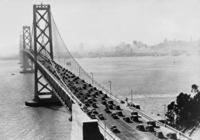 Oakland Bay Bridge in San Francisco, 1936 Timeline Classics/Timeline Images