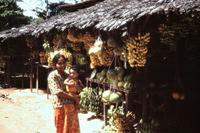 Obststand in Kuala Kangsar, 1978 Czychowski/Timeline Images