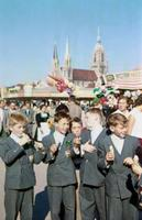 Oktoberfest in München, 1958 Dillo/Timeline Images