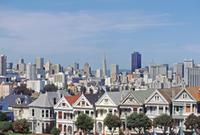 Painted Ladies am Alamo Square, 1992 Raigro/Timeline Images