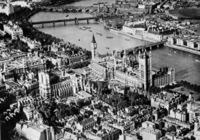 Panorama von London mit der Themse, 1936 Timeline Classics/Timeline Images
