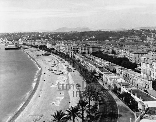 Panorama von Nizza, 1931 Timeline Classics/Timeline Images