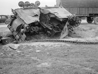 Panzerwrack in Frankreich, 1940 Kneckes/Timeline Images