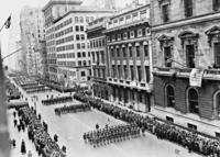 Parade am Saint Patrick's Day in New York, 1938 Timeline Classics/Timeline Images