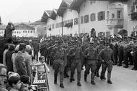 Parade in Mittenwald, 1971 Schneckes/Timeline Images