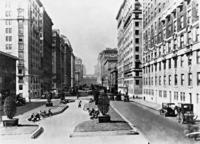 Park Avenue in New York, 1927 Timeline Classics/Timeline Images
