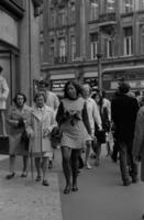 Passanten in London, 1970er Jahre kurka/Timeline Images