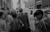 Passanten in New York City, 1980er Jahre fraenkie/Timeline Images
