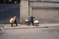 Passanten in Wuhan, 1987 Czychowski/Timeline Images