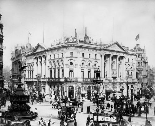 Pavilion-Theater am Piccadilly Circus, 1889 Timeline Classics/Timeline Images