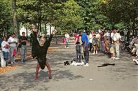 Performance im Central Park Raigro/Timeline Images